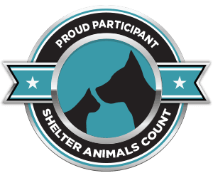 Proud to Participate in Shelter Animals Count