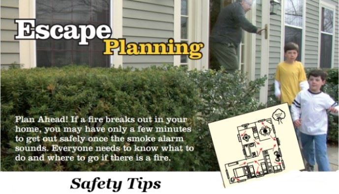 Escape Planning Safety Tips  Opens in new window